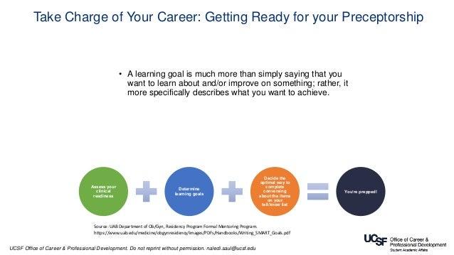 Managing Up: Navigating Preceptorships Skillfully
