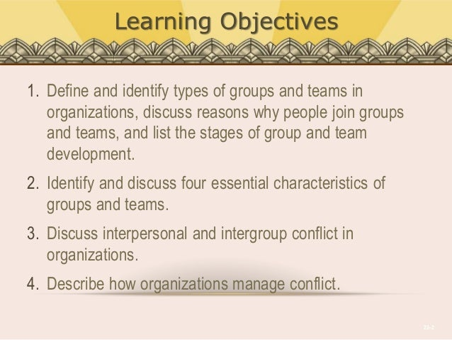 groups teams and conflict essay Ways to deal with team conflict effectively by dave mattson in professional development coworker's differences can contrast sharply to your own, creating tension within the group.