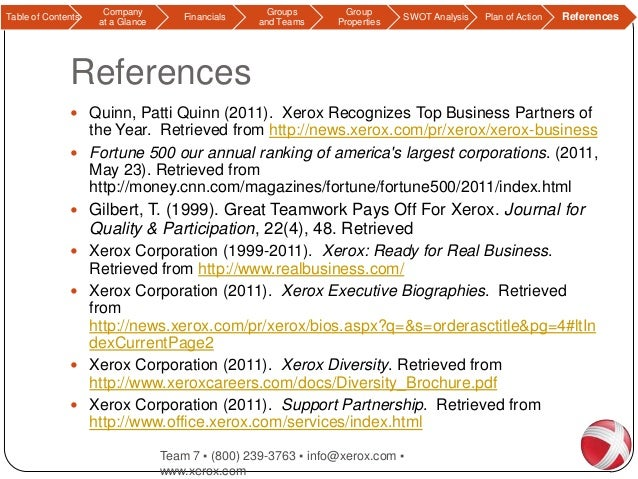 swot analysis of xerox Ebscohost serves thousands of libraries with premium essays, articles and other content including xerox corporation swot analysis get access to over 12 million other.