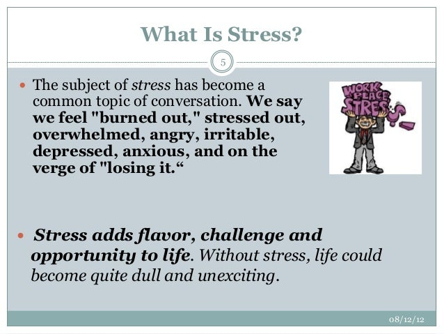 stress in the work place International journal of academic research in economics and management sciences november 2012, vol 1, no 6 issn: 2226-3624 1 stress management in the workplace.
