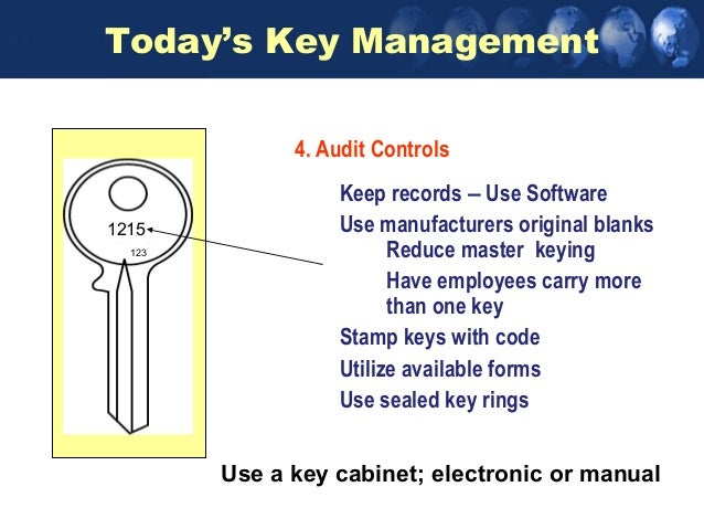 managing your access control systems eliminates misunderstanding 22 today s key