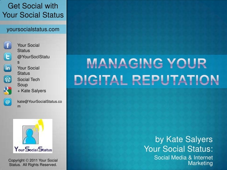 Get Social withYour Social Status yoursocialstatus.com      Your Social      Status      @YourSoclStatu      s      Your S...