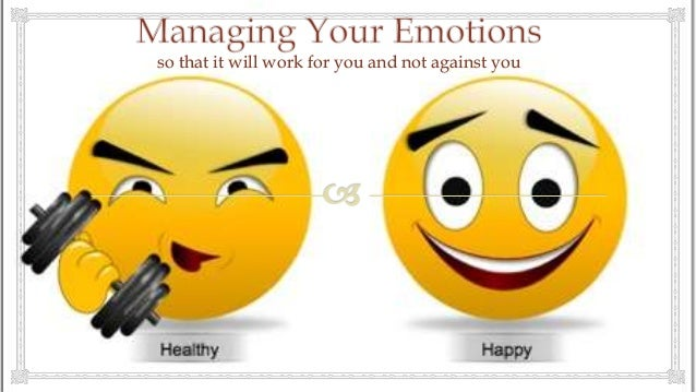 Managing Your Emotions at Work