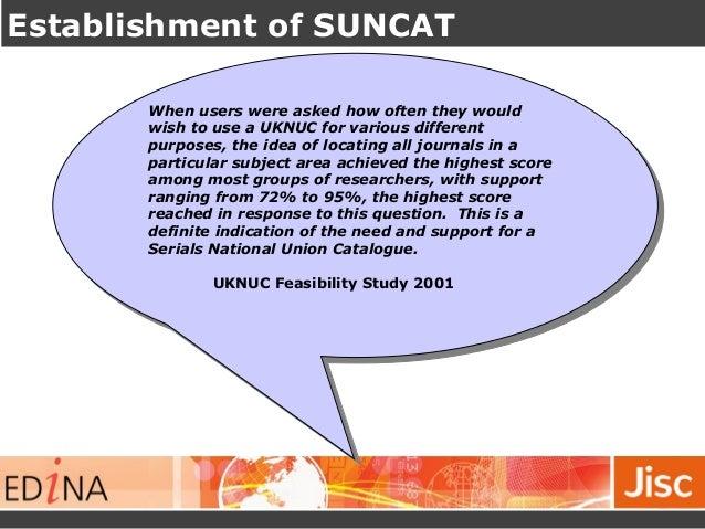 Managing your journals - SUNCAT Slide 2