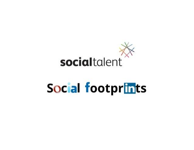 Managing your Social Footprint 2014