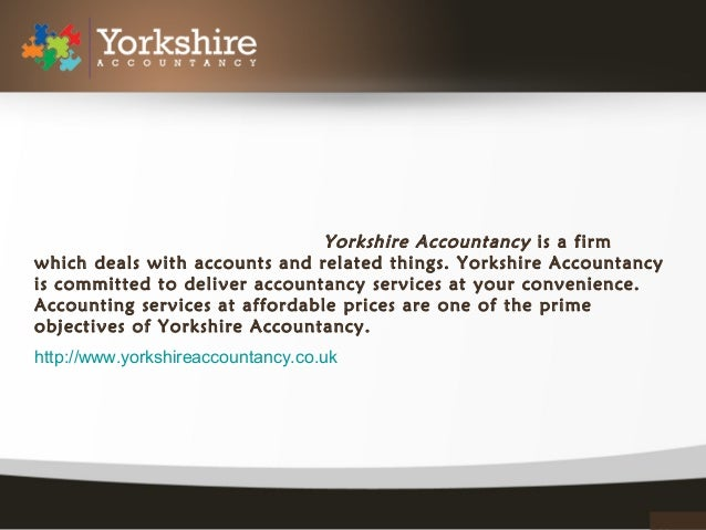 Accountancy Yorkshire