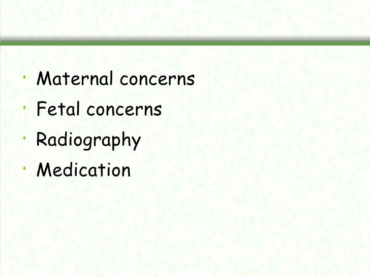 Manag of pregnant woman in dental clinic Slide 3