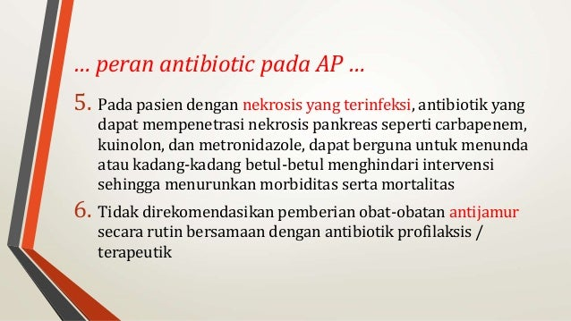 Tatalaksana Pankreatitis Akut - kalbemed.com
