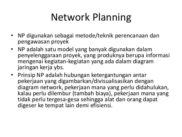 Cpm network planning cpm manajemen proyek network ccuart Image collections