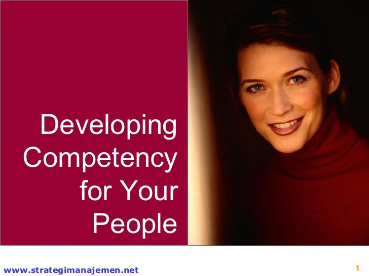 Developing Competency for Your People