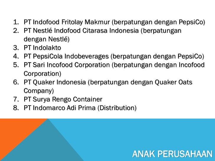PT Indofood Sukses Makmur Tbk, Cabang Semarang