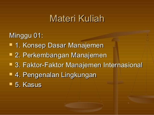 Manajemen Internasional