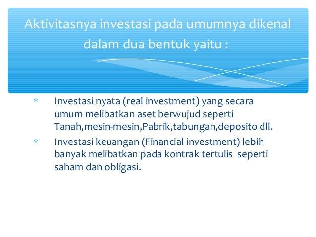 Strategi investasi yang melibatkan opsi