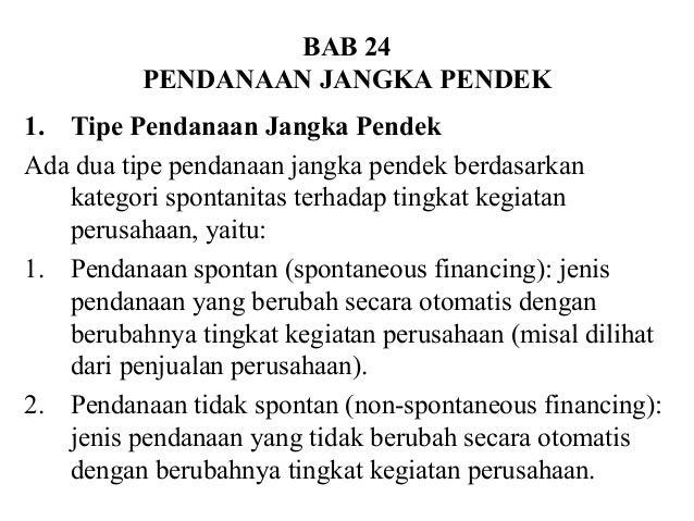 Manajemen Keuangan Bab 24