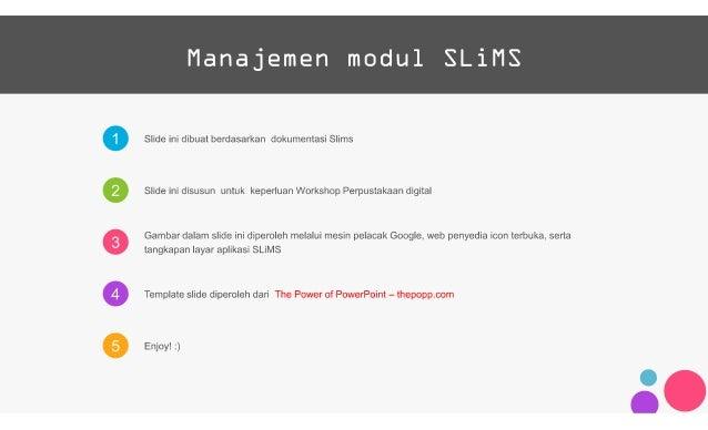 Manajemen modul SLiMS (syafii)1