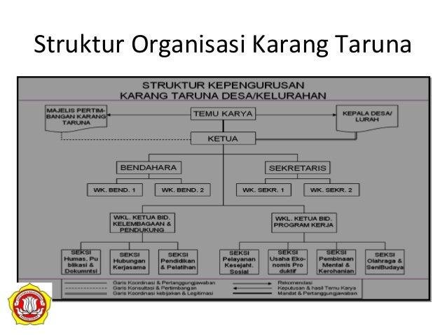Struktur Organisasi Karang Taruna Pdf