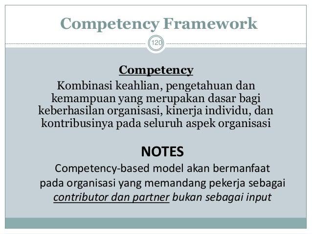 Pentingnya Kompetensi  121  Kompetensi adalah alat yang penting bagi pekerja dan bagi perencanaan keberhasilan. Mengident...