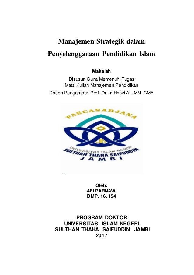 M S Afi Parnawi Prof Hapzi Ali Cover Uin Sts Jambi