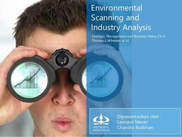 environmental scanning in strategic management pdf