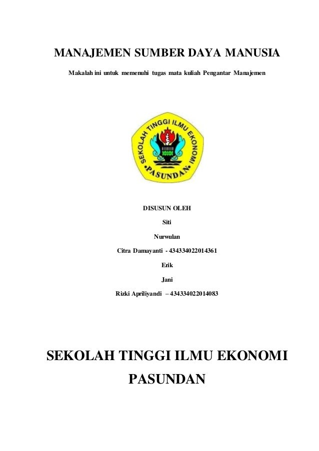 Daya pdf buku manajemen sumber manusia