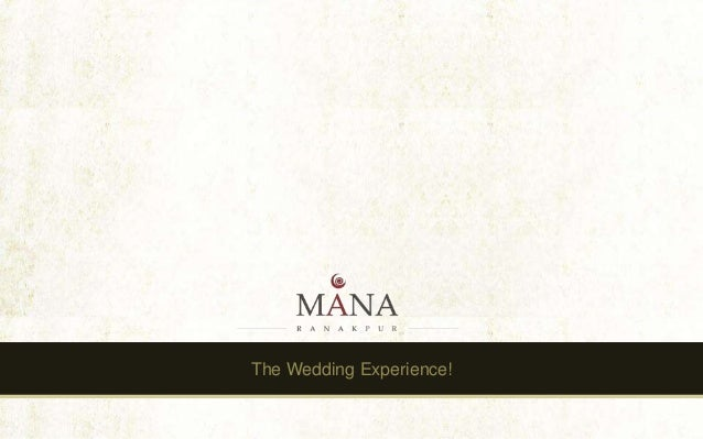 The Wedding Experience!