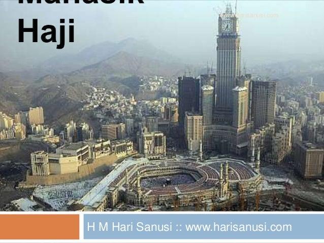H M Hari Sanusi :: www.harisanusi.com www.harisanusi.com