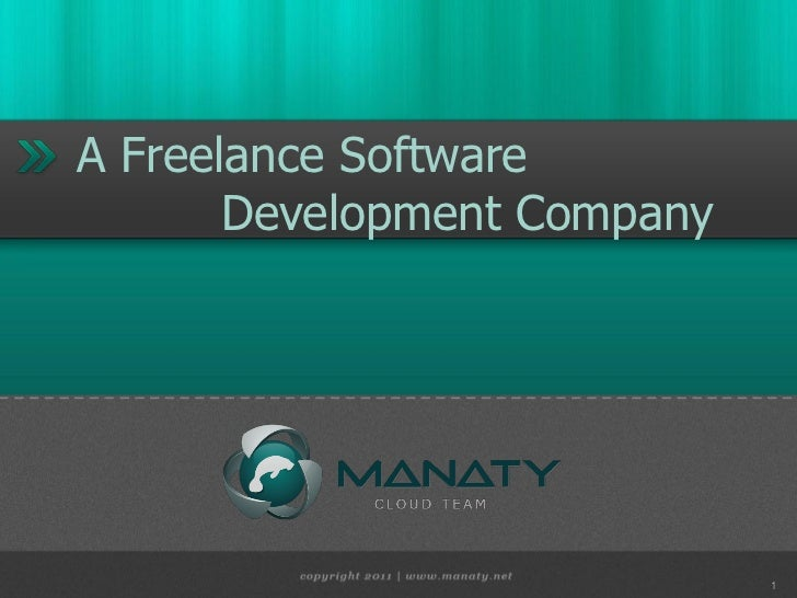 A Freelance Software       Development Company                             1