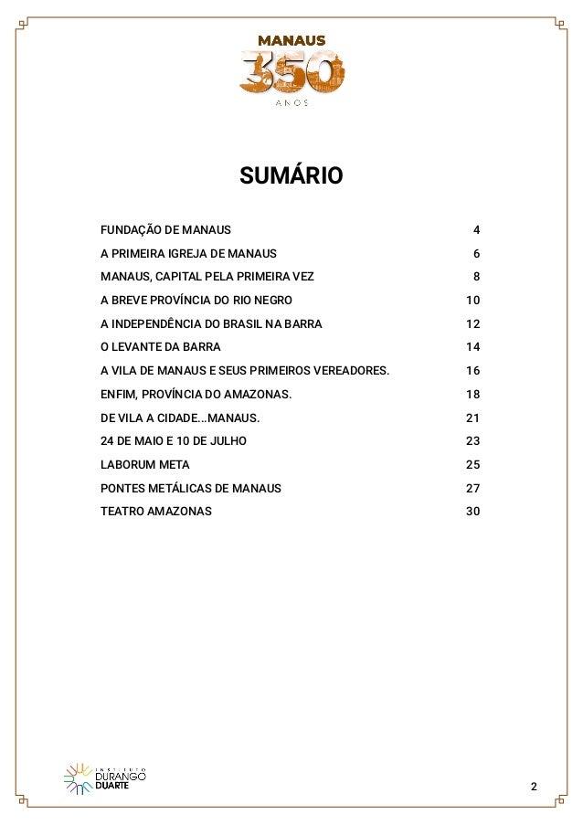 Manaus 350 anos  Slide 2
