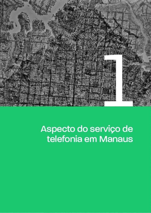 1Aspecto do serviço de telefonia em Manaus
