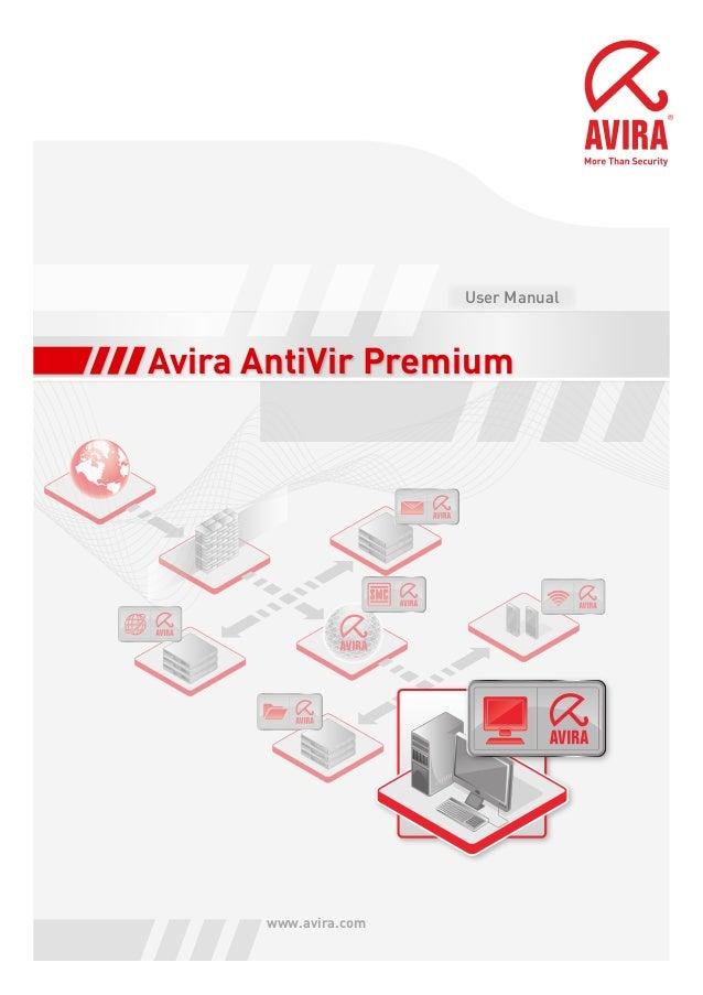 Avira AntiVir Premium www.avira.com User Manual