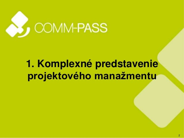 Manazerske clanky COMM-PASS Slide 2