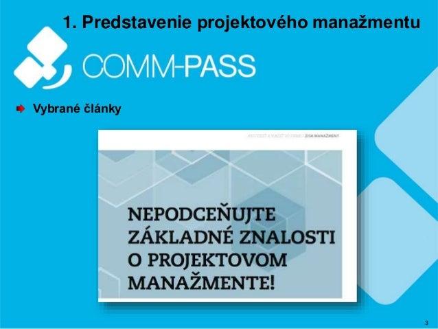 Manazerske clanky COMM-PASS Slide 3