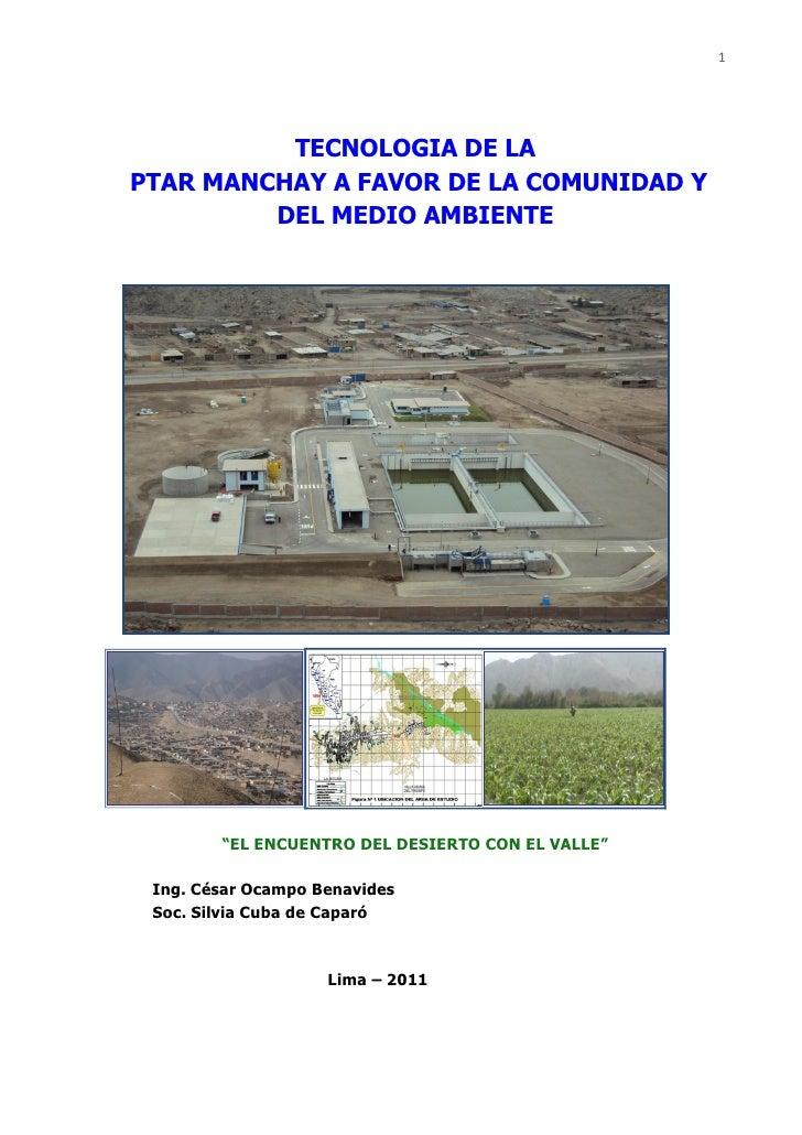 """1          TECNOLOGIA DE LAPTAR MANCHAY A FAVOR DE LA COMUNIDAD Y         DEL MEDIO AMBIENTE        """"EL ENCUENTRO DEL DESI..."""
