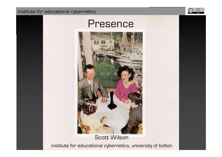 institute for educational cybernetics                                   Presence                                         S...