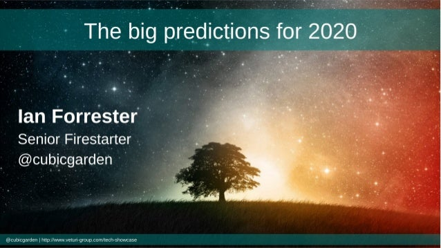 The big tech predictions for 2020 Manchester