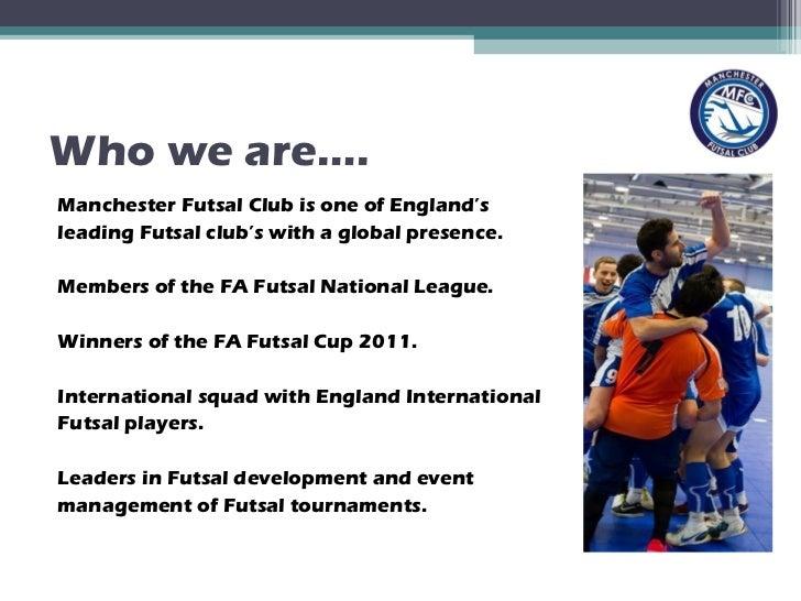Manchester Futsal Club Sponsorship 2011 12
