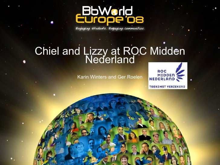 Chiel and Lizzy at ROC Midden Nederland Karin Winters and Ger Roelen