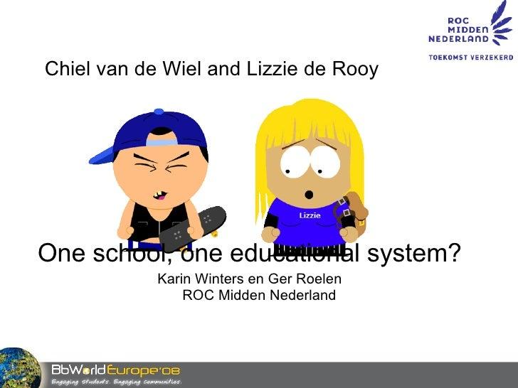 Chiel and Lizzy at ROCMN Slide 2