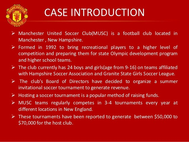 chapter 4 manchester united soccer club case United soccer leagues bigsoccer forum home forums england premier league premier league clubs.