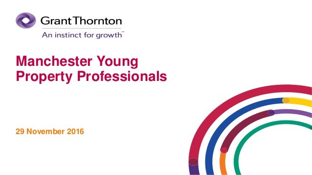 Manchester Young Property Professionals 29 November 2016