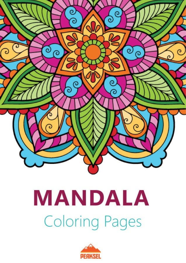 Mandala Coloring Pages For Adults Printable Coloring Book