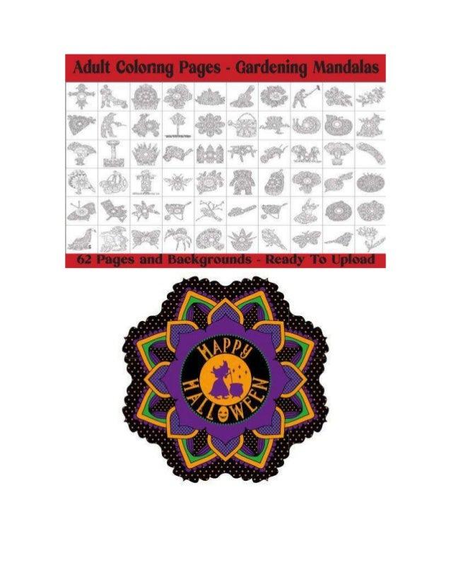 Mandala Color Idea- 1600 luxury mandala coloring page for kids adults-