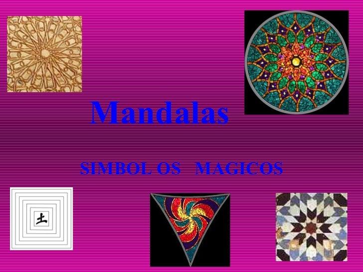 Mandalas SIMBOL OS  MAGICOS