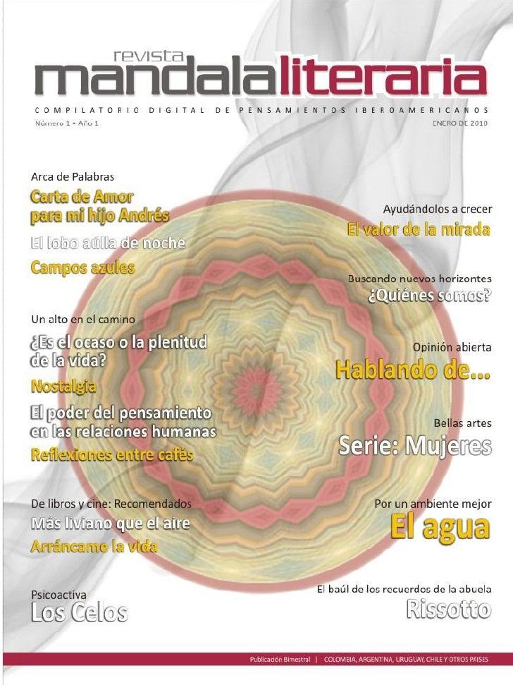 4    Editorial      El comienzo      del centro del pensamiento   5    Narrativa en general      Carta de amor            ...