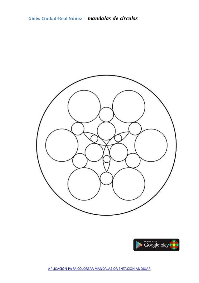 mandalas para colorear orientacion andujar
