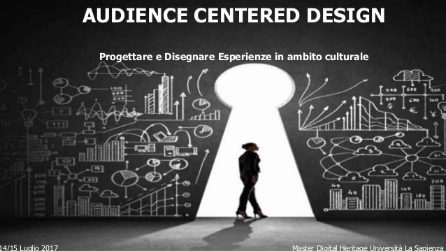 Master Sole 24 Ore 23/02/2013 GAMIFICATION PER LA CULTURA AUDIENCE CENTERED DESIGN Progettare e Disegnare Esperienze in am...