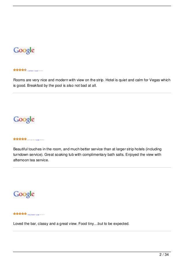 Mandarin Spa Las Vegas Reviews