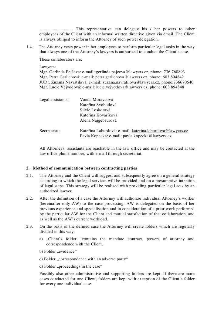 Mandating agency definition legal