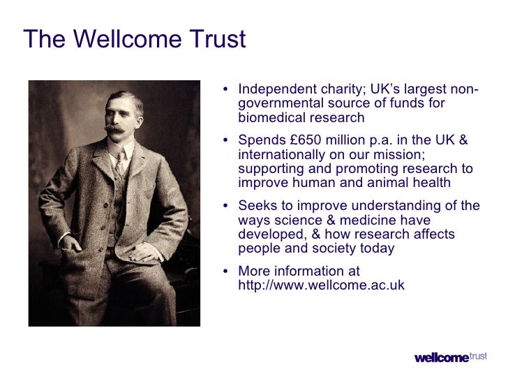 Mandating Open Access - Wellcome Trust Slide 3