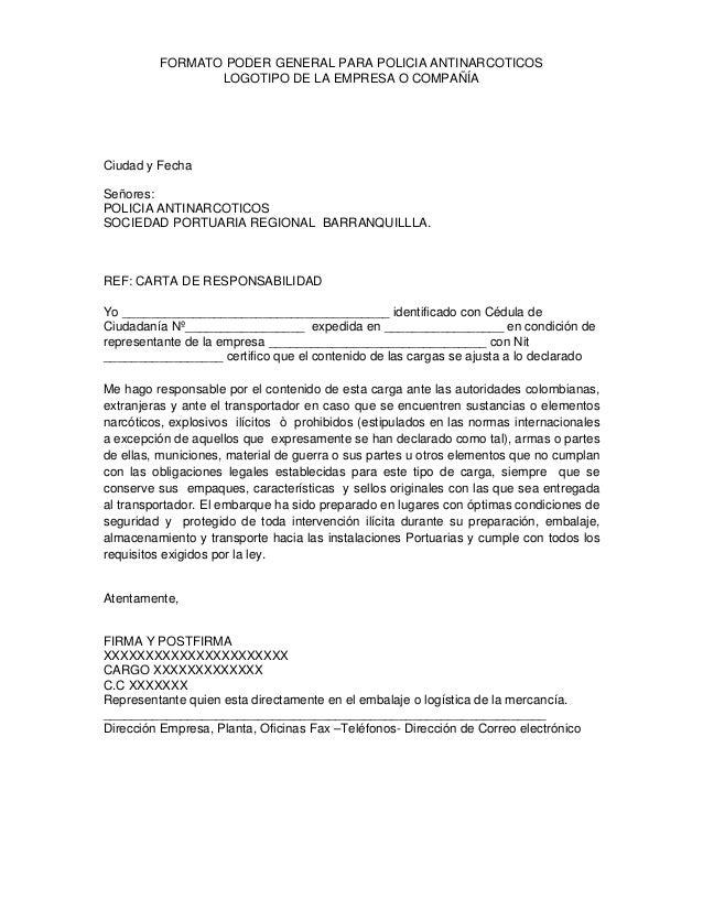 Mandato Aduana Podersprbaqcartaantinarcoticos